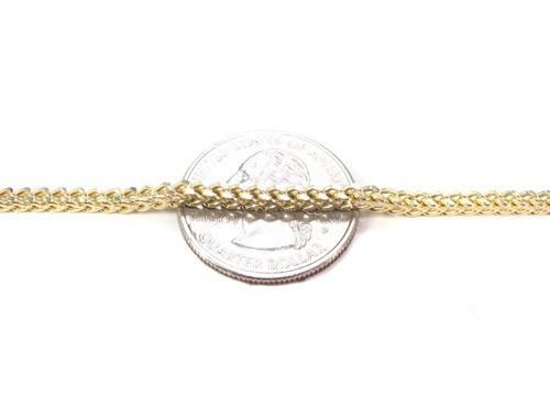 chaîne or franco diamond cut
