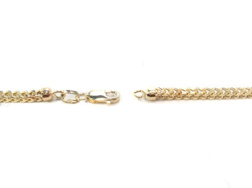 chaîne or diamond cut